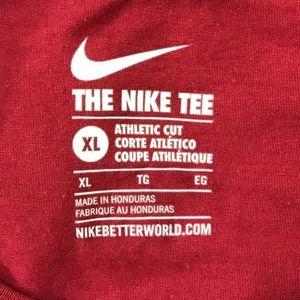 nike athletic cut t shirts